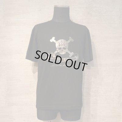 画像1: 666 skull T-shirts black