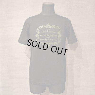 画像1: lily flame T-shirts black