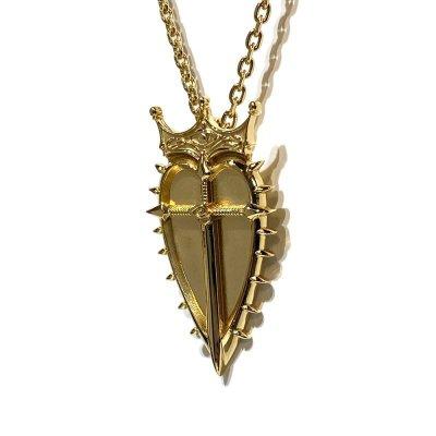 """[巌窟王]モンテ・クリスト伯爵 エンブレム シルバーネックレスGD「Le Comte de""""Monte-Cristo""""」/ Ark silver accessories"""
