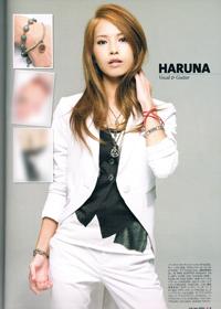 スキャンダル HARUNAさん 着用アクセサリー