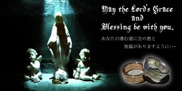 祈りのメッセージリング(ピンクゴールド)